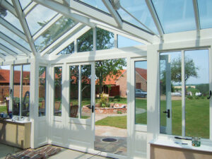 Pine Conservatory with Gable